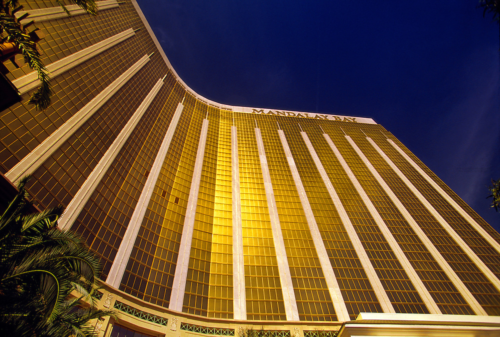 Mandalay Bay Hotel/Casino, Las Vegas Boulevard (The Strip), Las Vegas, Nevada USA