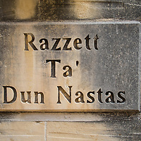 Razzett Ta' Dun Nastas house sign;<br />