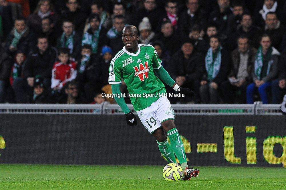 Florentin POGBA  - 21.12.2014 - Saint Etienne / Evian Thonon - 19eme journee de Ligue 1<br /> Photo : Jean Paul Thomas / Icon Sport