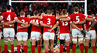 Rugby Union - 2019 Rugby World Cup - Bronze Final (Third Place Play-Off): Wales vs. France<br /> <br /> Wales face the Haka at Tokyo Stadium, Tokyo.<br /> <br /> COLORSPORT/LYNNE CAMERON