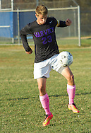 Washingtonville, New York  - Warwick played Washingtonville in a varsity boys' soccer game on Oct. 17, 2014.