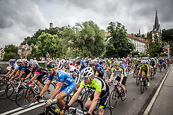 Riders during 97km race at 35th Marathon Franja BTC City 2016, on June 11, 2016 in Askerceva street, Ljubljana, Slovenia. Photo by Vid Ponikvar / Sportida
