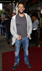Leon Lopez attends James Freedman: Man of Steal Press Night at Trafalger Studios, Whitehall, London on Friday 29 May 2015