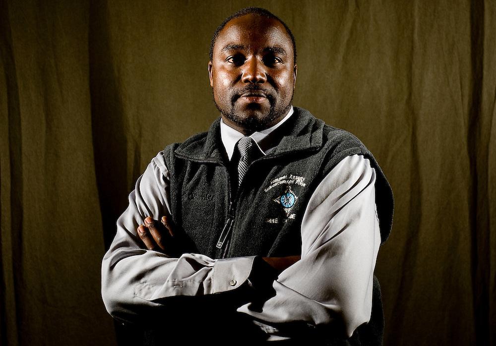 012709     Brian Leddy.Dine College Athletic Director Abraham Bitok is originally from Kenya.