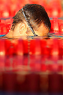 Dominik MEICHTRY of Switzerland is cooling down after competing in the men's 200m Freestyle Semifinal 1 at the European Swimming Championship at the Hajos Alfred Swimming complex in Budapest, Hungary, Tuesday, Aug. 10, 2010. (Photo by Patrick B. Kraemer / MAGICPBK)