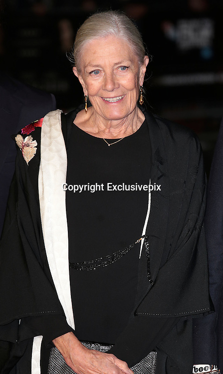 Oct 16, 2014 - 58th BFI London Film Festival - 'Foxcatcher' Gala Screening<br /> <br /> Photo Shows: Vanessa Redgrave<br /> ©Exclusivepix