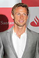 LONDON - JUNE 28: Jenson Button attended The London Grand Prix, a special event to premiere a short film that imagines how a race around London's streets might look. The Royal Automobile Club, Pall Mall, London, UK. June 28, 2012. (Photo by Richard Goldschmidt)