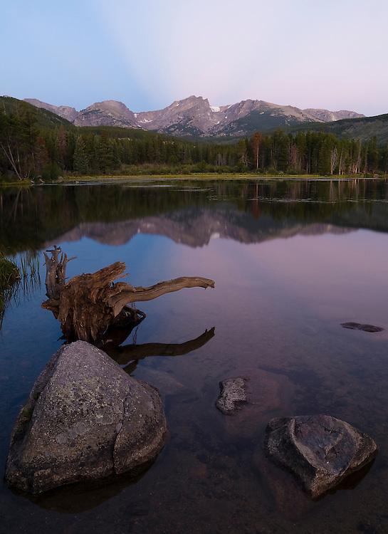 Sprague Lake Alpenglow