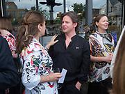 ALEX SHULMAN; CHRISTOPHER KANE, Alex Shulman goodbye party. Dock Kitchen, Ladbroke Grove. London. 22 June 2017