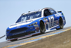 June 23, 2017 - Sonoma, CA, United States of America - June 23, 2017 - Sonoma, CA, USA: Ricky Stenhouse Jr. (17) takes to the track to practice for the Toyota/Save Mart 350 at Sonoma Raceway in Sonoma, CA. (Credit Image: © Justin R. Noe Asp Inc/ASP via ZUMA Wire)