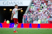 Poland's Lukasz Piszczek during international friendly match between Poland and Lithuania at PGE Arena in Gdansk, Poland.<br /> <br /> Poland, Gdansk, June 06, 2014<br /> <br /> Picture also available in RAW (NEF) or TIFF format on special request.<br /> <br /> For editorial use only. Any commercial or promotional use requires permission.<br /> <br /> Mandatory credit:<br /> Photo by &copy; Adam Nurkiewicz / Mediasport