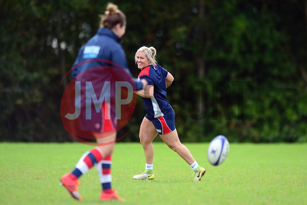 Marlie Packer of Bristol Rugby Ladies - Mandatory by-line: Dougie Allward/JMP - 09/09/2017 - FOOTBALL - Cleve RFC - Bristol, England - Bristol Rugby Ladies