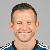 Feb 25, 2016; USA; San Jose Earthquakes player Chad Barrett poses for a photo. Mandatory Credit: USA TODAY Sports