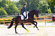 Lotte Meulendijks - Welt Hill<br /> FEI World Championship Young Dressage Horses 2018<br /> © DigiShots