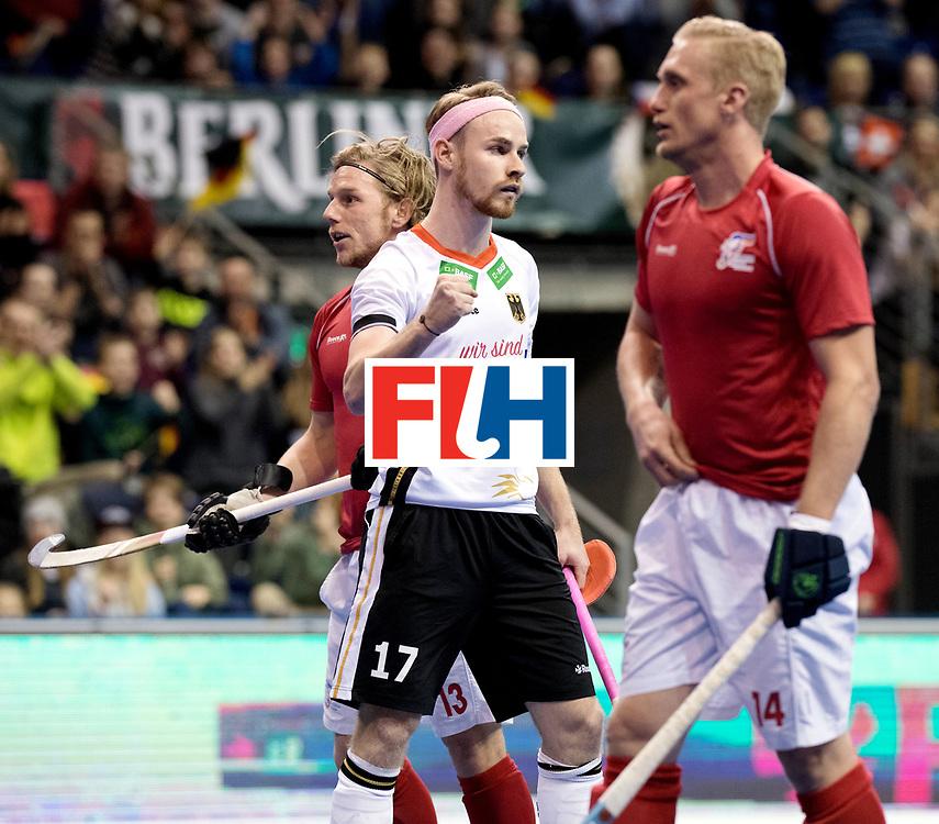 BERLIN - Indoor Hockey World Cup<br /> Women: Ukraine - Germany<br /> foto: Christopher R&uuml;hr.<br /> WORLDSPORTPICS COPYRIGHT FRANK UIJLENBROEK