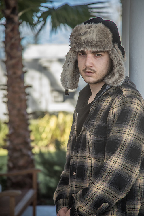 """Twenty three year old Santa Rosa resident Ian Neff awaits his drug and alcohol treatment appointment at the Vermiel Clinic in Calistoga.  """"I've reached a point where I've had to make some decisions about my life."""""""
