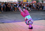 Young dancer perform at the '626 Night Market' on June 30, 2017 in Arcadia, California, an event that attracts all generations of the Chinese American community and showcases many San Gabriel Valley food vendors.(Photo by Ringo Chiu)<br /> <br /> Usage Notes: This content is intended for editorial use only. For other uses, additional clearances may be required.
