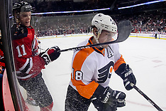 January 21, 2012: Philadelphia Flyers at New Jersey Devils