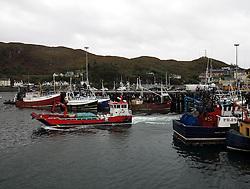 UK SCOTLAND MALLAIG 7OCT13 - Fishing port of Mallaig, Lochaber, on the west coast of the Highlands of Scotland. <br /> <br /> jre/Photo by Jiri Rezac<br /> <br /> © Jiri Rezac 2013