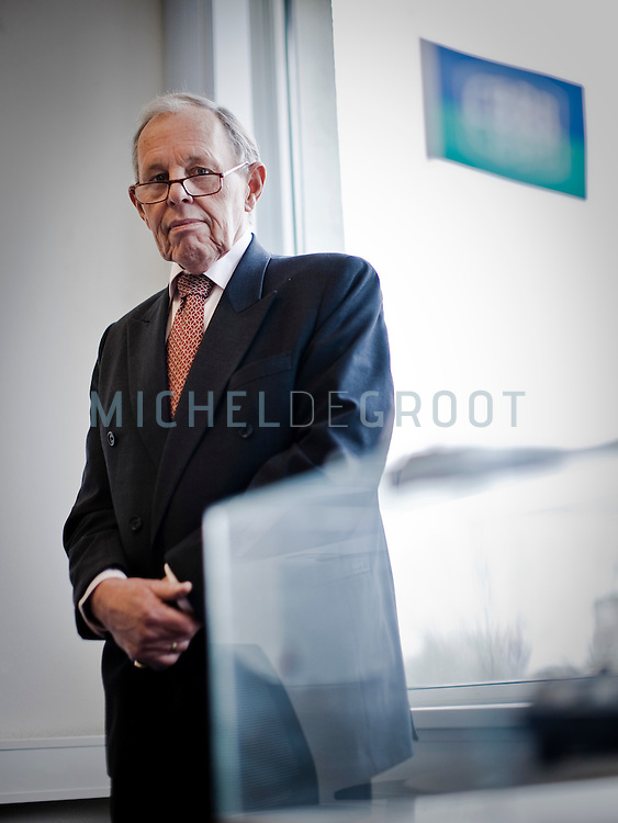 Pieter Struijs, voorzitter van Centraal Bureau voor de Rijn en Binnenvaart in Rotterdam