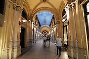 shopping arcade in Vienna, Austria