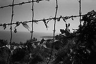 The border fence installed by the French governament during the 50s to stop the italian immigration. Federico Scoppa
