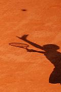 Roland Garros. Paris, France. June 2nd  2008..Gael MONFILS against Ivan LJUBICIC..Round of 16 (4th Round)...