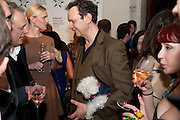 TOM DIXON AND HIS DOG, Wallpaper Design Awards 2012. 10 Trinity Square<br /> London,  11 January 2011.