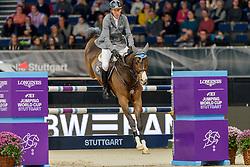 BEERBAUM Ludger (GER), Cool Feeling<br /> Stuttgart - German Masters 2019<br /> Stechen<br /> LONGINES FEI Jumping World Cup™ 2019/2020<br /> Großer Preis von Stuttgart mit Mercedes-Benz, WALTER solar und BW-Bank<br /> Int. Springprüfung mit Stechen - CSI5*-W<br /> Qualifikation zum Weltcup Finale<br /> 17. November 2019<br /> © www.sportfotos-lafrentz.de/Stefan Lafrentz