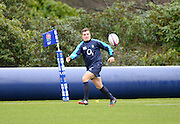 Bagshot, Great Britain George FORD, during the England Rugby Training, in preparation for the England vs Ireland, Six Nations Match. Thursday   20/02/2014  [Mandatory Credit Peter SPURRIER/Intersport Images.