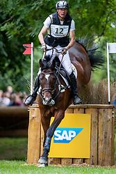 THOMSEN Peter (GER), Horseware Nobleman<br /> Wiesbaden - Longines Pfingstturnier 2019<br /> EVENT RIDER MASTERS <br /> Preis der Familie Prof. Dr. Heicke<br /> CCI4*-S <br /> Teilprüfung Gelände<br /> 08. Juni 2019<br /> © www.sportfotos-lafrentz.de/Stefan Lafrentz