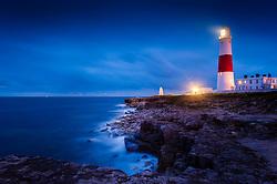 Portland Bill Lighthouse, Dorset, England, UK.