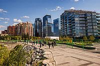 Eau Claire Park, Downtown Calgary