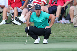 September 20, 2018 - Atlanta, GA, U.S. - ATLANTA, GA - SEPTEMBER 20: Brooks Koepka during the first round of the PGA Tour Championship on September 20, 2018, at East Lake Golf Club in Atlanta, GA. (Photo by Michael Wade/Icon Sportswire) (Credit Image: © Michael Wade/Icon SMI via ZUMA Press)