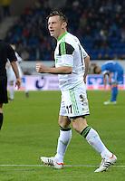 FUSSBALL  1. BUNDESLIGA  SAISON 2012/2013  14. SPIELTAG     TSG 1899 Hoffenheim - VfL Wolfsburg       18.11.2012 Ivica Olic (VfL Wolfsburg)