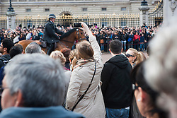 Taking picture of the changing of the Guard