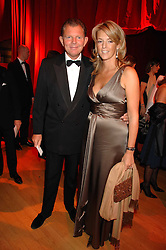 BERNARD & FIONA DREESMAN at a dinner held at the Natural History Museum to celebrate the re-opening of their store at 175-177 New Bond Street, London on 17th October 2007.<br />