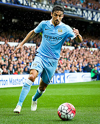 Jesus Navas of Manchester City  - Mandatory byline: Matt McNulty/JMP - 07966386802 - 23/08/2015 - FOOTBALL - Goodison Park -Everton,England - Everton v Manchester City - Barclays Premier League