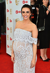 Jennifer Metcalfe arriving for the Virgin TV British Academy Television Awards 2017 held at Festival Hall at Southbank Centre, London. PRESS ASSOCIATION Photo. Picture date: Sunday May 14, 2017. See PA story SHOWBIZ Bafta. Photo credit should read: Matt Crossick/PA Wire