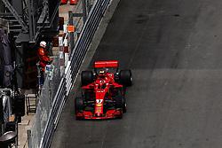 May 24, 2018 - Montecarlo, Monaco - 07 Kimi Raikkonen from Finland Scuderia Ferrari SF71H during the Monaco Formula One Grand Prix  at Monaco on 24th of May, 2018 in Montecarlo, Monaco. (Credit Image: © Xavier Bonilla/NurPhoto via ZUMA Press)