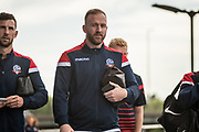 Ben Alnwick of Bolton Wanderers arriving at the New York Stadium before the EFL Sky Bet League 1 match between Rotherham United and Bolton Wanderers at the AESSEAL New York Stadium, Rotherham, England on 14 September 2019.