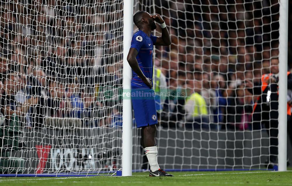 Chelsea's Antonio Rudiger at full time