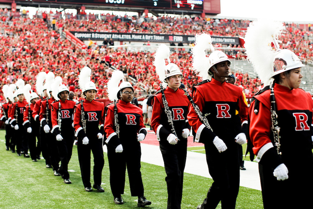 High Points Solutions Stadium, Rutgers University, Piscataway, NJ - 9/6/14: <br />