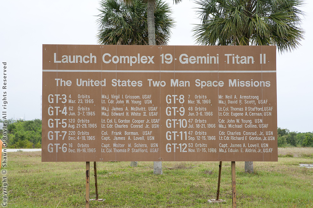 Launch Complex 19, site of the Gemini space program, and where the first Apollo astronauts flew their orbital rocket flights in preparations for the flights to the moon.