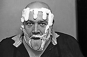 Buster Bloodvessel, singer with Bad Manners, Ska, 2 Tone band, UK 1980