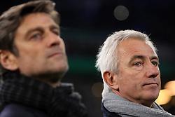 Football: Germany, DFB Cup<br /> Sportdirector Oliver Kreutzer Trainer Bert van Marwijk (Hamburger SV, HSV)