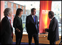 The Prime Minister David Cameron on the Andrew Marr Show at The Conservative Party Conference at ICC, Birmingham, On day one of the Party Conference, Sunday October 7, 2012. Photograph by Andrew Parsons / i-Images