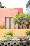 Photo print of a colorful house along the Venice Canals on a summer day, California wall art for your home. Los Angeles, Westside, Southern California landscape photography. Matted print, limited edition. Fine art photography print.