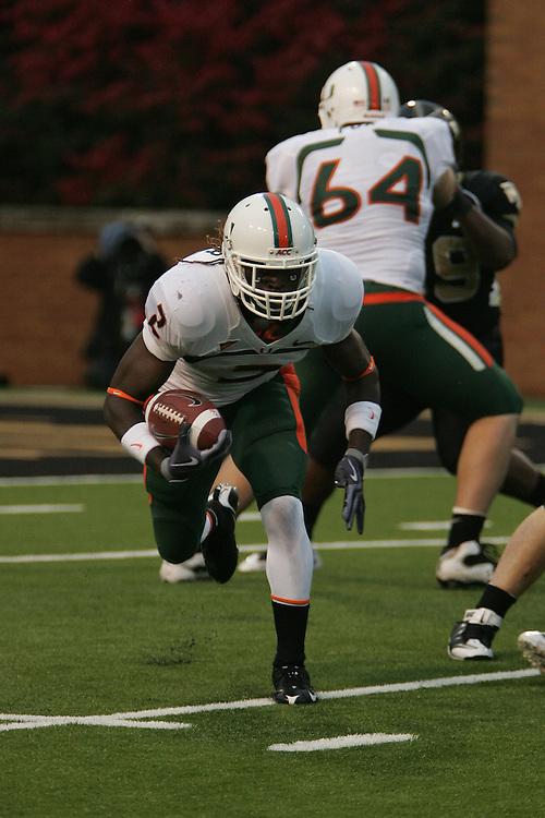 2009 Miami Hurricanes Football @ Wake Forest