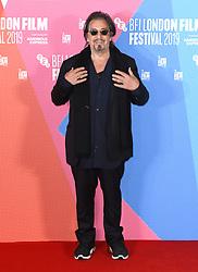 Al Pacino at The Irishman photocall, part of the BFI London Film Festival 2019, May Fair Hotel. Photo credit should read: Doug Peters/EMPICS